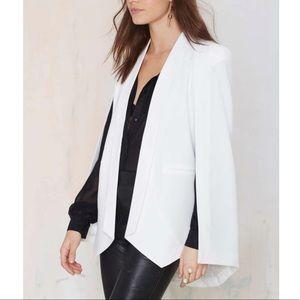 Nasty Gal cape blazer